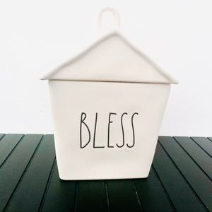 Rae Dunn BLESS House Shaped canister